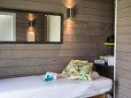 Espace bien être, détente et beauté en option (hammam, sauna, jacuzzi, soins)