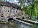 Old mills on the river Žrnovnica also a restaurant - must visit, 2-4 min driving