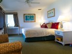 There are TWO King bedrooms with full bathrooms. Nice and spacious