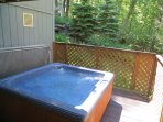 Mountainside Hideaway,walk to pool,hot tub,midweek