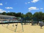 Millpond community playground and pool