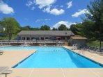 Millpond community outdoor pool