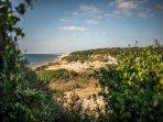 La meravigliosa riserva di Tor Caldara a 10 minuti a piedi