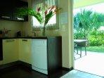L'Oasis de Terre Rouge - Appartement Acacias - Vue terrasse