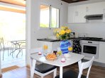 L'Oasis de Terre Rouge - Appartement Frangipanier - Cuisine