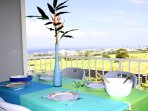 L'Oasis de Terre Rouge - Appartement Frangipanier - Terrasse