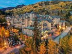 View of the Beaver Creek Lodge