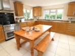 Croyde Holiday Cottages Dunes Kitchen
