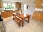 Croyde Holiday Cottages Dunes Kitchen Area