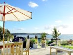 Woolacombe Holiday Cottages Ocean Breeze Parasol