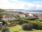Woolacombe Holiday Cottages Ocean Breeze View From Loiunge