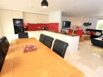 Croyde Holiday Cottages Seascape Dining To Lounge