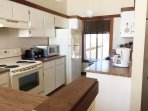 Kitchen with unobstructed and panoramic view