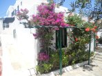 Charming house in Mykonos, Platy Gialos The yard