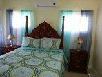 Second Bedroom Queen Bed, AC, TV.