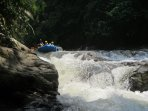 Whitewater rafting with us