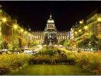 Night Prague - is very close
