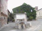 Particular view of Borgo Ostia Antica (2 metro stops)