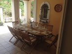 Dining and breakfast table 1