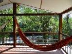Relax en la Hamaca mirando al Rio Otun