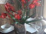 beautiful table decoration