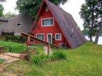 Lakefront 3BR Lawton Cottage w/Serene Views!