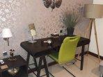 Hairdryer & luxury furnishings