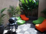 rear garden chill zone