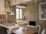 Detalle cocina-comedor casa Bruna