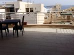 50 square foot Seaview terrace