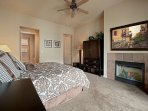 Master Bedroom #2 - Another Gorgeous Fireplace
