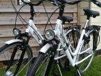 mogelijkheid tot huren van fietsen