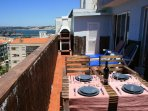 Terrasse with Grill and Wonderfull river/ocean View