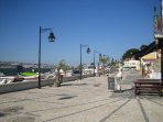 Trafaria Restaurant Promenade am River Tagos