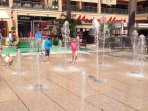 Water feature for the Zenia Blvd Shopping Mall