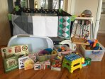 Many of our guests are families with young children and we are well prepared to host them.