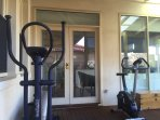 Our guests are welcome to use our gym equipment