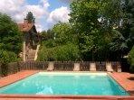 Pool in esclusive use 6 x 12 meters