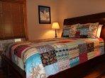 Bedroom number 4 with queen bed