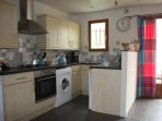 Fully equipped modern kitchen