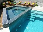 New! Amazing apartments with an amazing outdoor heated pool and massage tub