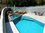 Brand new luxury apartment with heated outdoor pool and jacuzzi