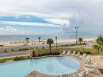 Balcony Views of Pool & Gulf