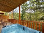 Wow! How about a hot tub with views of Mother Nature's wonders?
