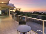 Balcony provides great views to Moorooduc Valley, Port Phillip Bay and City skyline on a clear day.