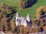Le Chateau de Combourg , célèbre grace à Chateaubriand