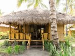 All made from Bamboo providing a GARDEN view and a private terrace with a hammock to relax and enjoy