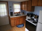 The kitchen is fully equipped with everything you will need to cook and stay comfortably.