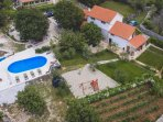 Heritage Villa for 14 with heated pool near Split/Trogir