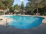 just one of the seasonal opened community pools